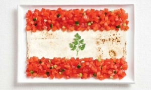lebanon.food.flag